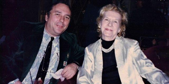 Bob Blackburn with Kathy Wood