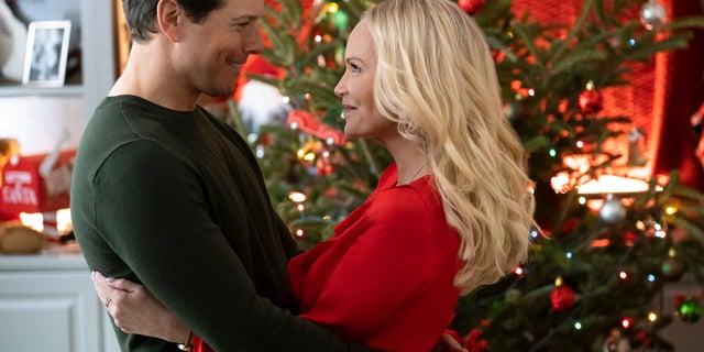 "Kristin Chenoweth stars alongside Scott Wolf in the holiday film ""A Christmas Love Story"" on the Hallmark Channel."