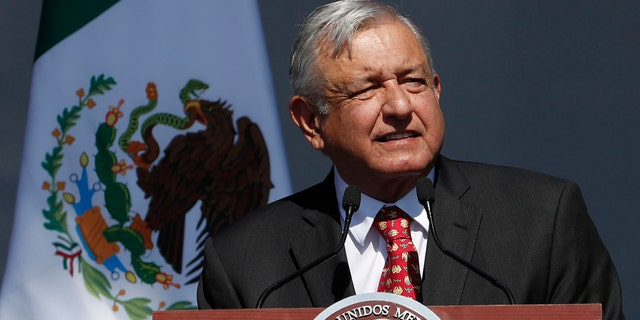López Obrador has faced criticism and protests for violence and other ills in the country. (AP Photo/Marco Ugarte)