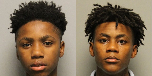 Decorrius Wright, left, and Morris Marsh were among 4 teenagers who transient a Juvenile Detention Center in Nashville, Tenn., Saturday night, military said.