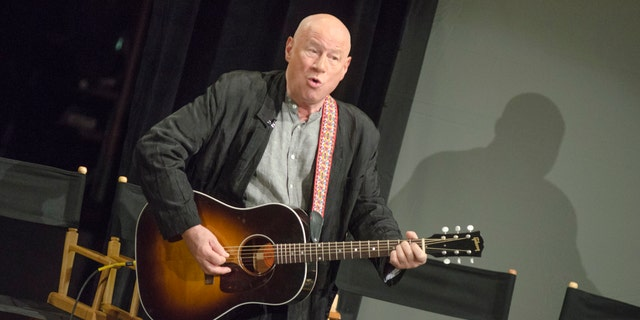 """Neil Innes attends """"50 Years: The Beatles"""" panel discussion at Ed Sullivan Theater on Feb. 9, 2014 in New York City. (Photo by Kris Connor/Getty Images)"""