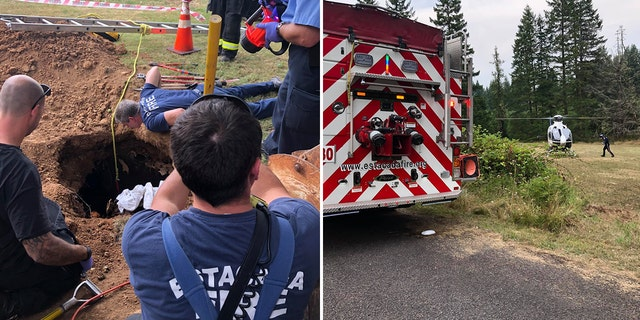 Westlake Legal Group septic-tank-rescue-sbs Guardian angels: The most bizarre and amazing rescues of 2019 in pictures and videos Stephen Sorace fox-news/us/us-regions/west/utah fox-news/us/us-regions/west/oregon fox-news/us/us-regions/southwest/arizona fox-news/us/us-regions/northeast/pennsylvania fox-news/us/us-regions/midwest/indiana fox-news/us/crime/police-and-law-enforcement fox-news/special/2019-year-in-review fox-news/good-news fox news fnc/us fnc d692f8ea-cd30-5c8f-9f1b-3aeab343a0df article