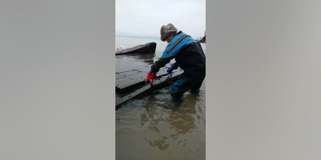 Westlake Legal Group ship1 Mysterious shipwreck uncovered in Lake Michigan storm surge James Rogers fox-news/science/archaeology/history fox-news/science/archaeology/culture fox-news/columns/digging-history fox news fnc/science fnc article 41d0da66-75f2-5a3b-8814-6f8d64b85749