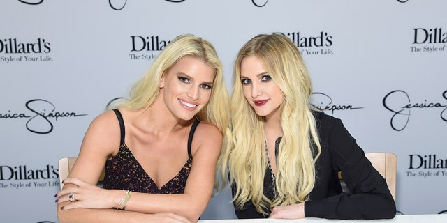 Jessica Simpson and her sister Ashlee Simpson Ross turned heads at a friend's wedding, bringing sizzle and shine on the very special day.