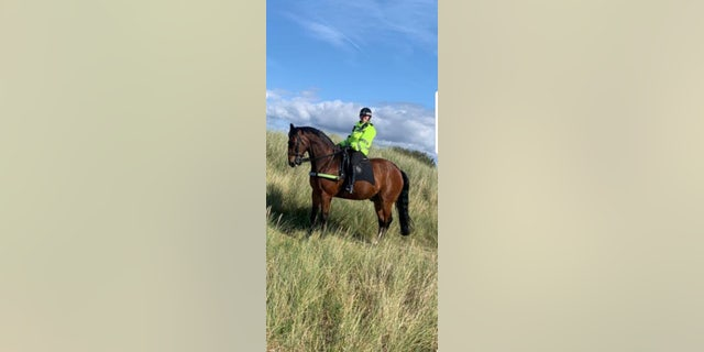 After a decorated career Jake is set to retire from the police force next year – though there is sure to be plenty of tea available for the playful pony then.