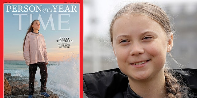 """Sweden-born teen activist Greta Thunberg is Time Magazine's 2019 """"Person of the Year."""""""