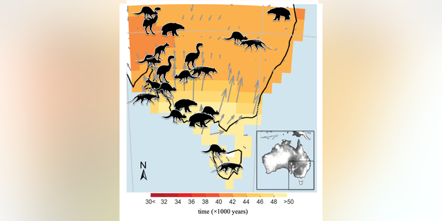 (Credit: Centre of Excellence for Australia Biodiversity and Heritage)