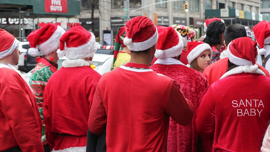 NYC SantaCon canceled amid coronavirus pandemic concerns