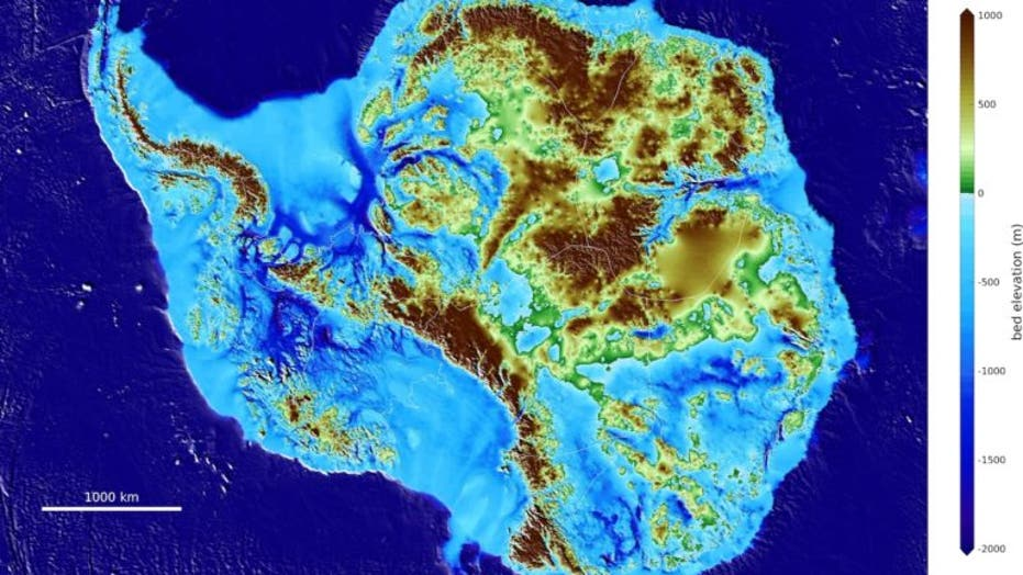 World\'s deepest land canyon discovered beneath Antarctic ...