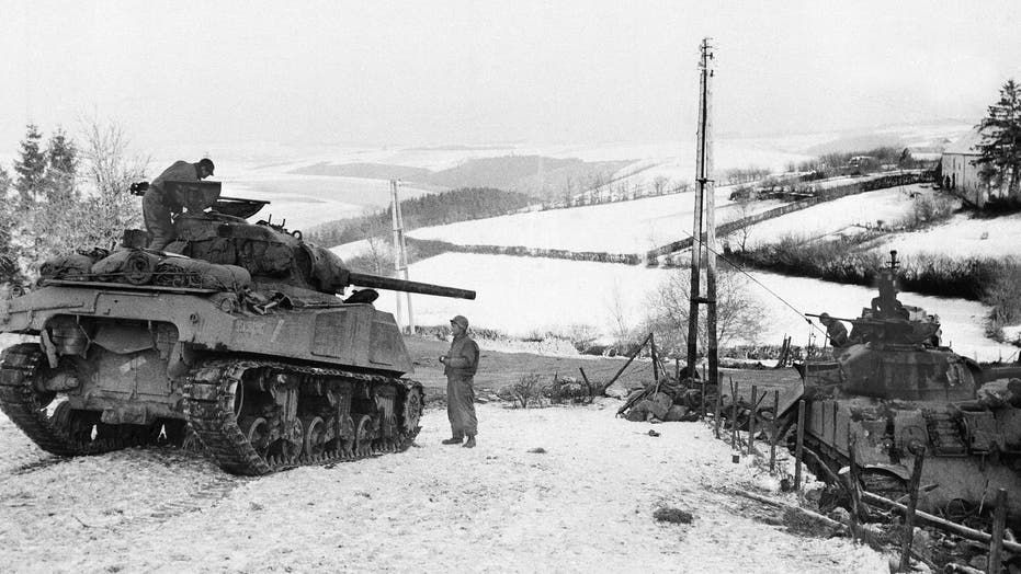 World War II veteran recalls fighting in Battle of the Bulge
