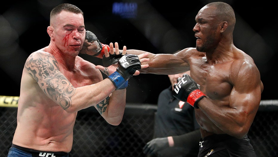 Kamaru Usman Revels In Ufc 245 Win Over Trump Supporting Colby Covington Fox News