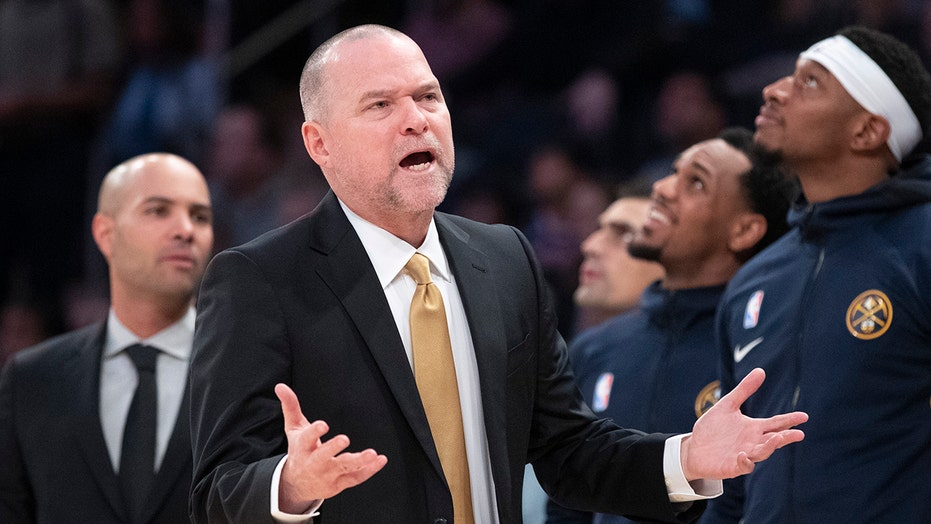 Nuggets coach blasts 'awful' starters after blowout loss to Trail Blazers