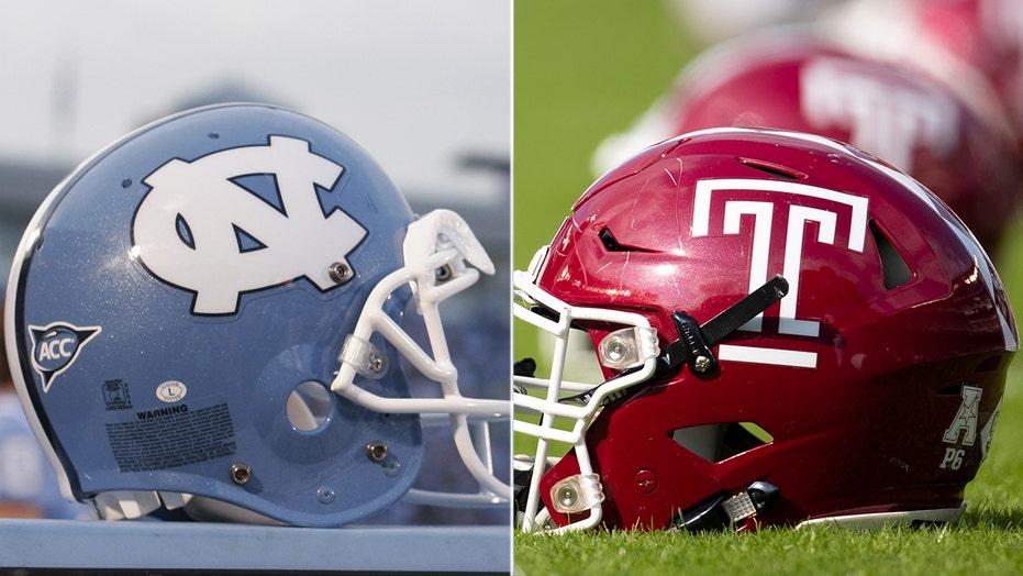 unc vs temple football