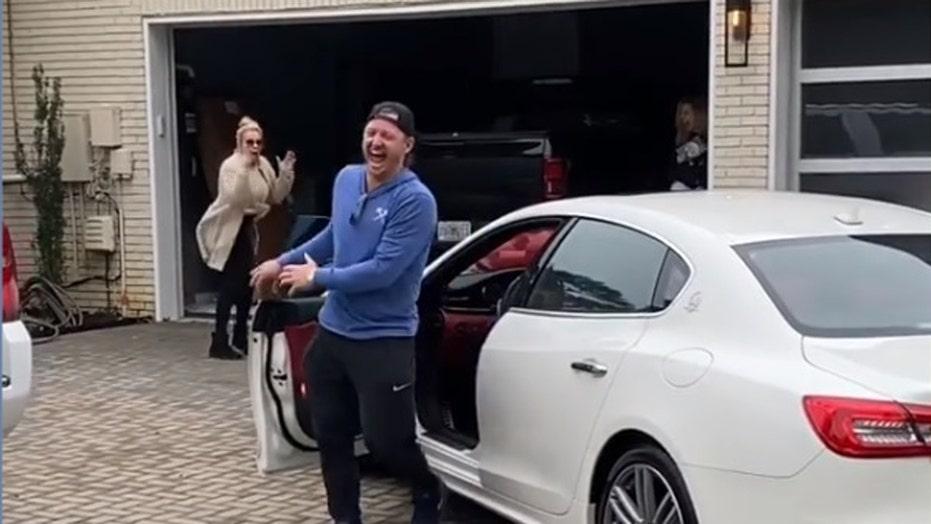 MLB star buys mom Maserati after she quit smoking