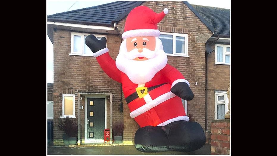 Dad Orders Wrong Inflatable Santa