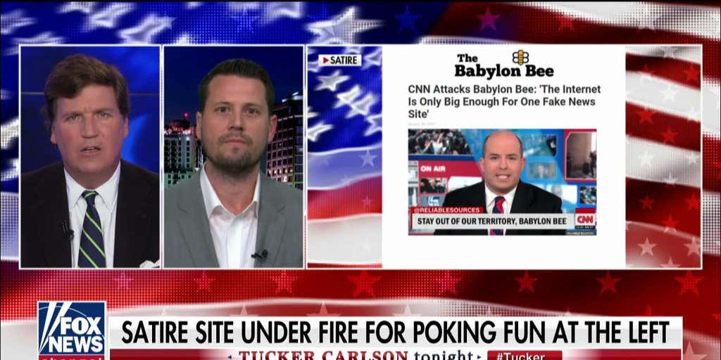 'Babylon Bee' CEO: 'How funny is it that CNN is coming after us for spreading disinformation?'