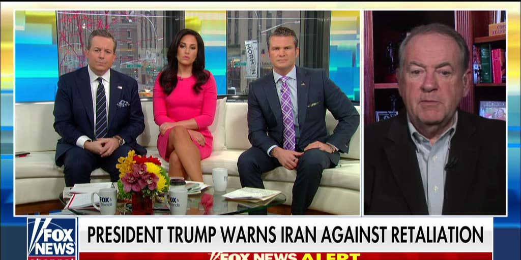 Gov. Huckabee reacts to Dems slamming Trump for threats against Iran: 'Why can't the left appreciate what this president has done?'