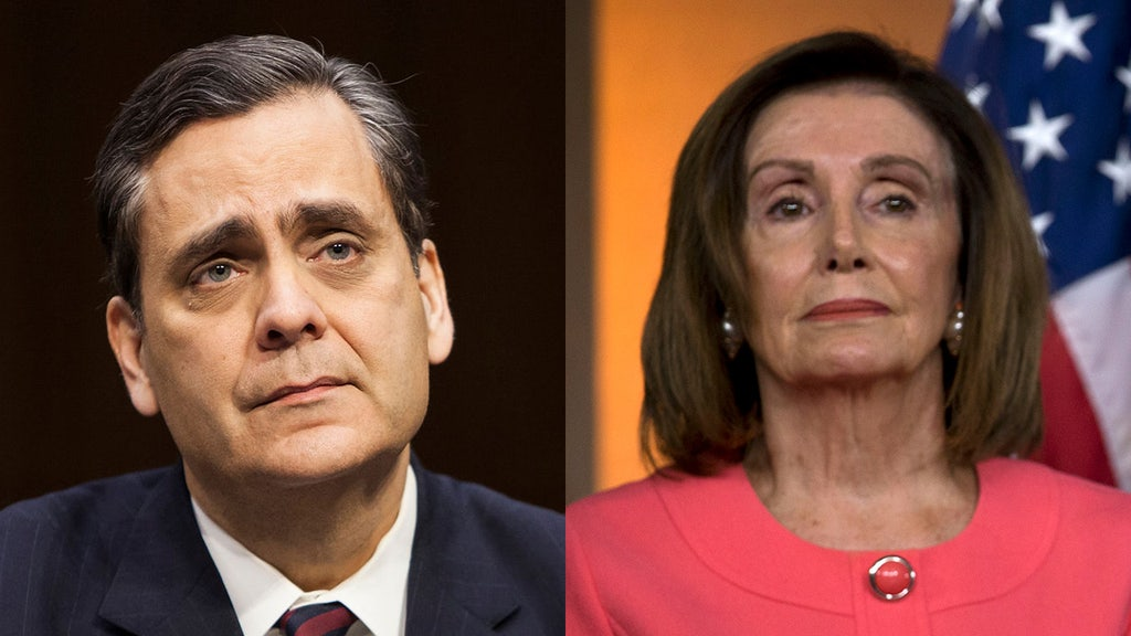 Pelosi 'played into' McConnell's hands, Turley says