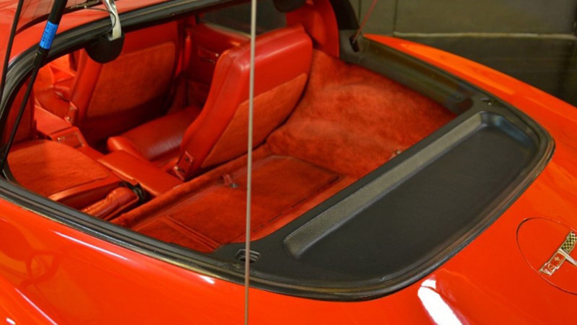 4-Door Chevrolet Corvette interior