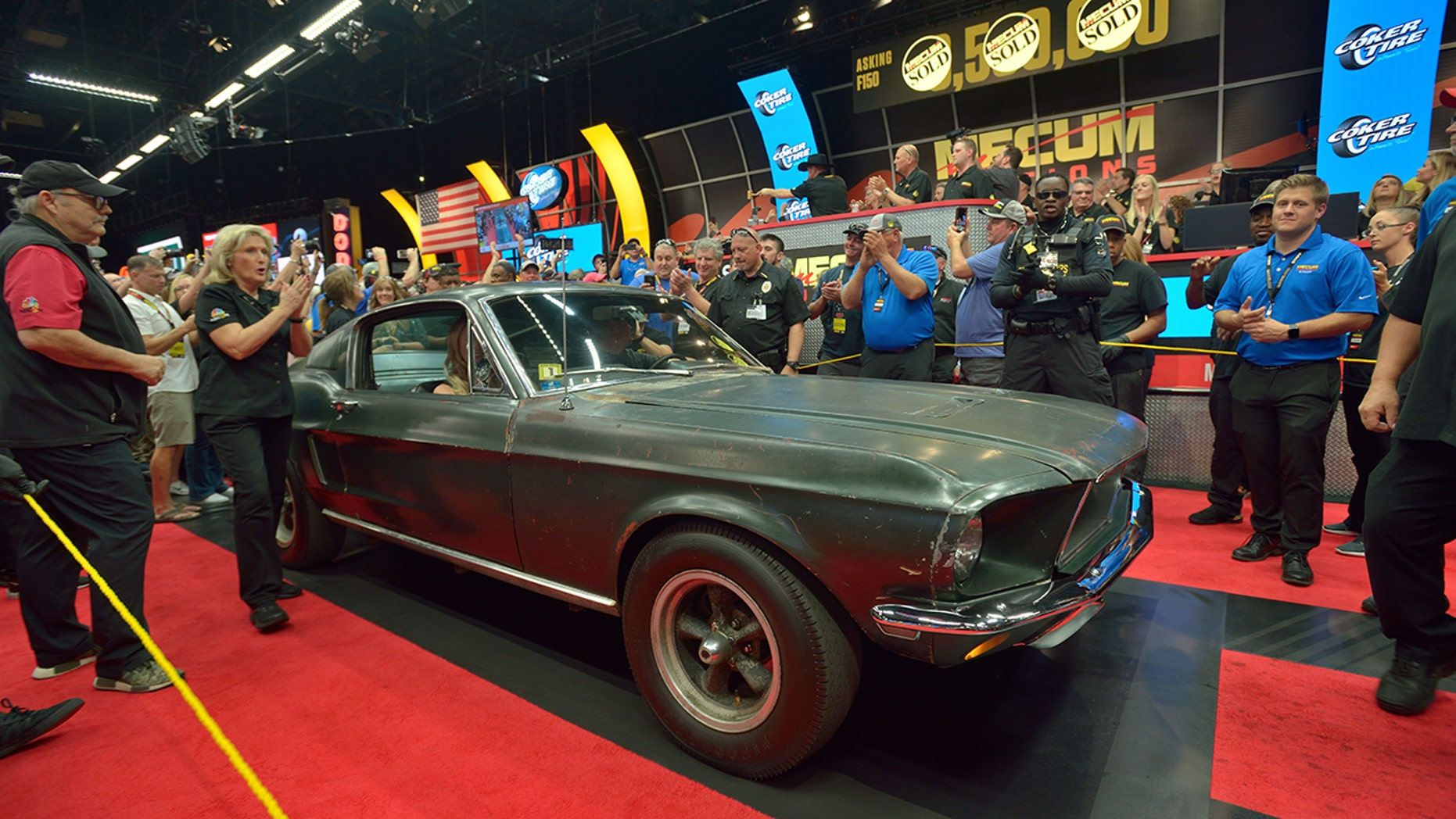 'Bullitt' Ford Mustang at Mecum Auctions