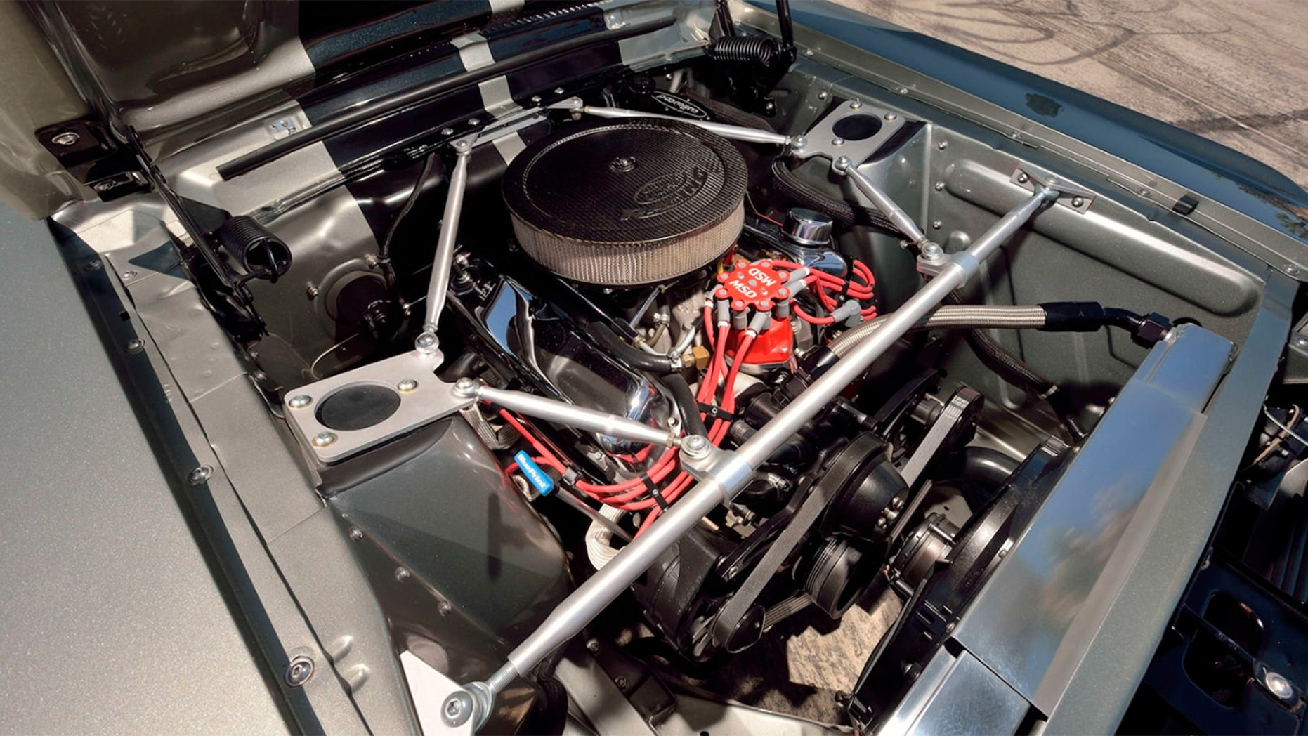 'Eleanor' Ford Mustang engine
