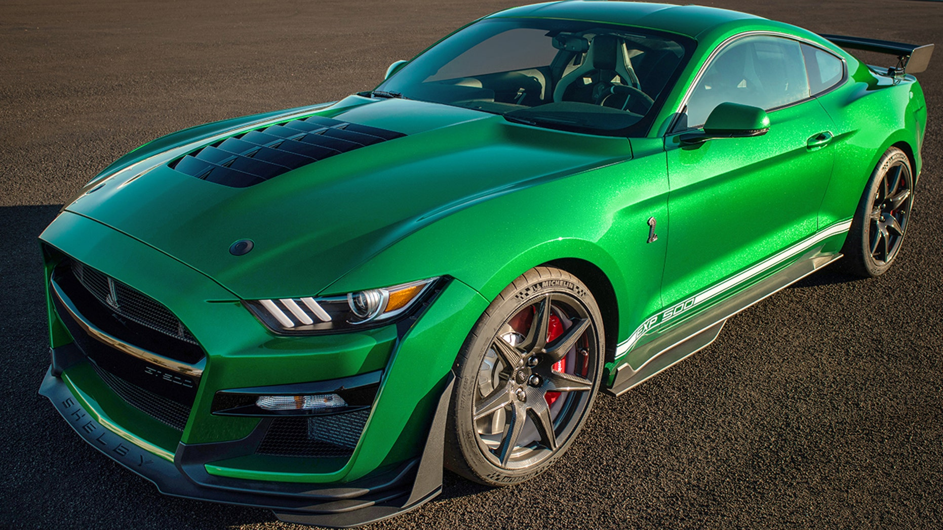$1.1M 2020 Ford Mustang Shelby GT500