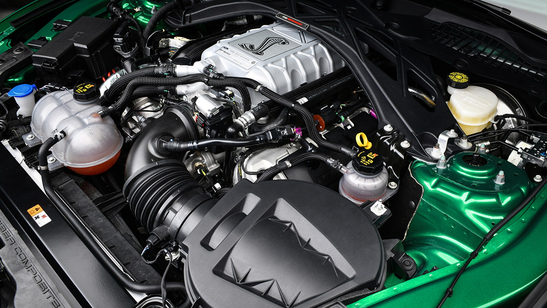 $1.1M 2020 Ford Mustang Shelby GT500 engine
