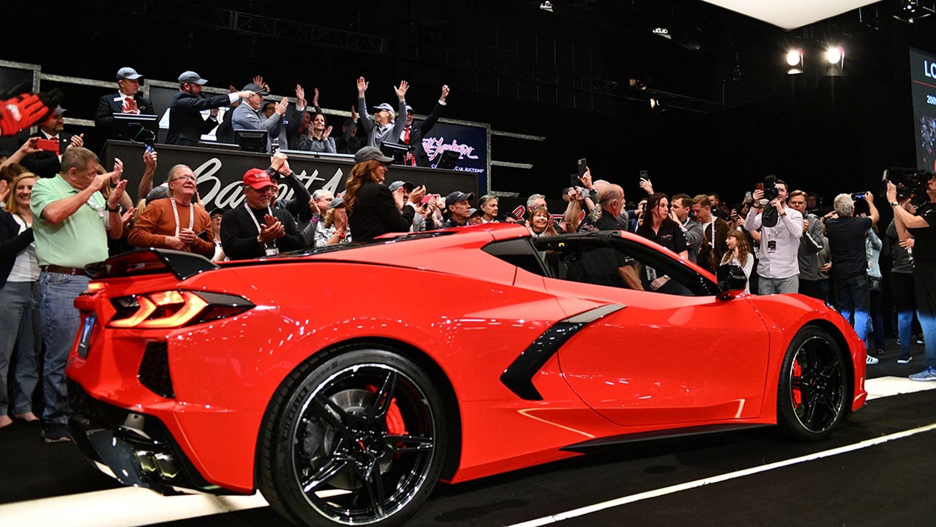 First 2020 Chevrolet Corvette Stingray