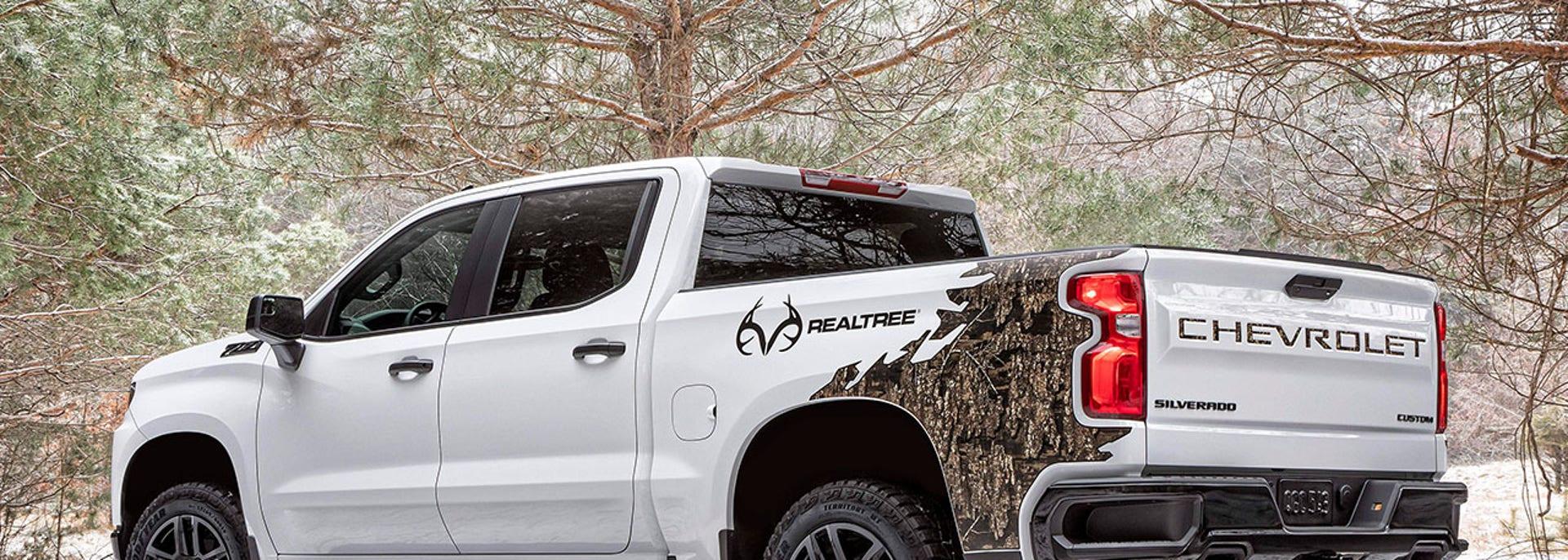 The 2021 Chevrolet Silverado Realtree Edition is a ...