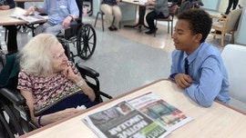 Holocaust survivor, 94, forms unlikely friendship with with middle schooler