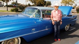 California police find 106-year-old vet鈥檚 classic Cadillac, gifted by Rita Hayworth, after thieves steal it