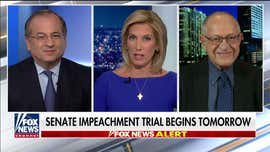 Alan Dershowitz: Trump impeachment is a 'motion-to-dismiss' case, save for 'political' considerations