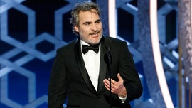 Joaquin Phoenix comforts pigs at slaughterhouse after SAG win: 'I have to be here'