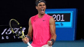 Steady Nadal beats animated Kyrgios in 4 at Australian Open