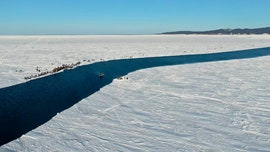 Russian officials rescue over 500 'amateur' fishermen who got stranded on giant ice floe