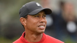 Tiger Woods narrowly misses shot from fairway at Farmers Insurance Open
