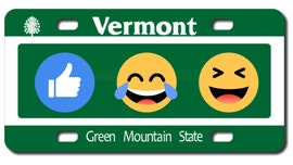 Vermont bill would put emojis on license plates