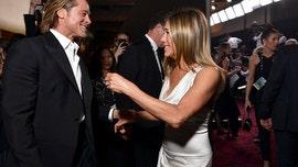 Exes Jennifer Aniston and Brad Pitt reunite backstage at SAG Awards 2020