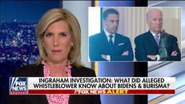 Laura Ingraham: Much more to uncover when it comes to Bidens, Burisma and Ukraine whistleblower