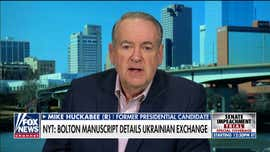 Mike Huckabee on John Bolton claim: No one does leaks like The New York Times