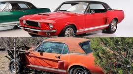 Long-lost 'Little Red' 1967 Mustang Shelby GT500 worth millions recovered and restored