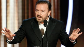 Ricky Gervais said anyone 'mildly conservative' on Twitter is labeled as 'Hitler'