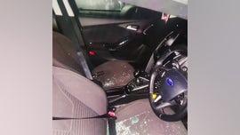 Car thief locks himself inside car, is 'saved' by police