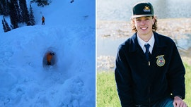 Utah snowmobiler, 18, dies after avalanche buries him on trip with dad
