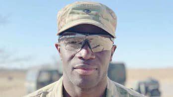 Former NFL player dons different uniform, lives childhood dream in Army