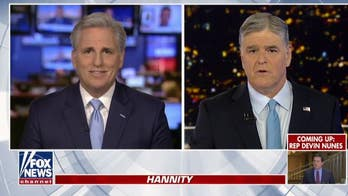 Kevin McCarthy: Biden should 'pledge' not to campaign during impeachment trial in case Pelosi tried to help him