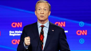 Tom Steyer predicts coronavirus will be President Trump's Hurricane Katrina