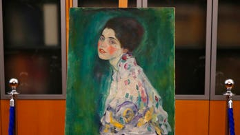 Klimt painting found in wall of Italian museum was stolen from same gallery in 1997, authenticators say