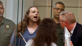 Oregon man accused of fatally stabbing 2 on train after yelling racial slurs at women goes to trial