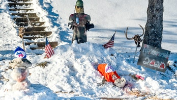 Iowa snow display targeting Democrats is widely condemned in city